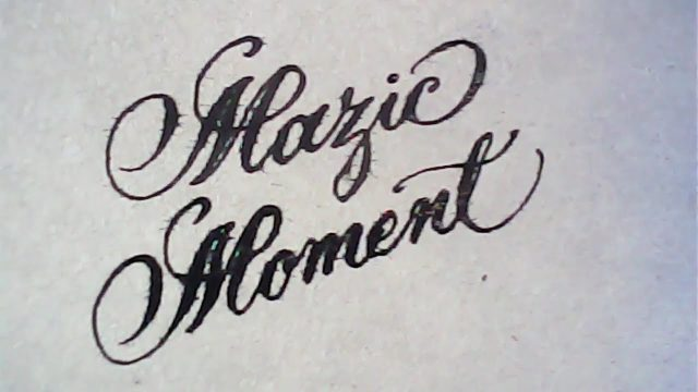 Calligraphy copperplate | satisfying calligraphy | Mazic Writer