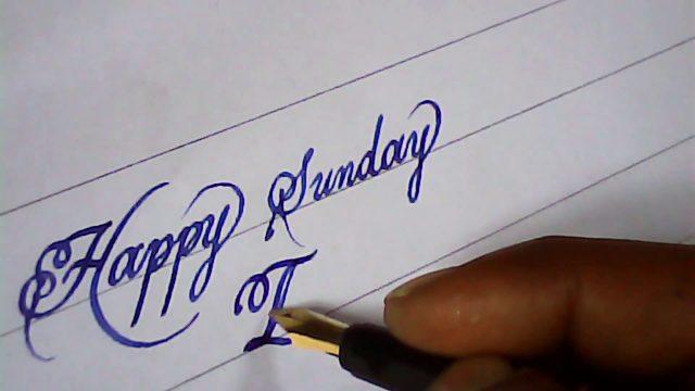 Fountain pen calligraphy | enjoy hand writing | mazic writer