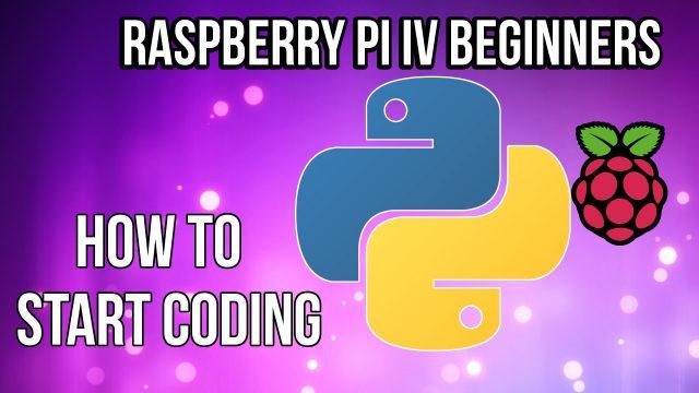 Raspberry Pi – How to start programming with Python