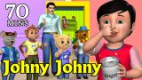 Johny Johny Yes Papa Nursery Rhyme – Kids' Songs – 3D Animation English Rhymes For Children