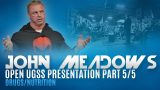 John Meadows Speaks on Drugs & Nutrition for Bodybuilding – elitefts.com