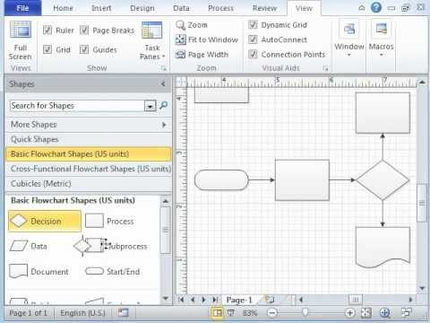 Microsoft Visio Tutorial – Video 1 of 3 Introduction