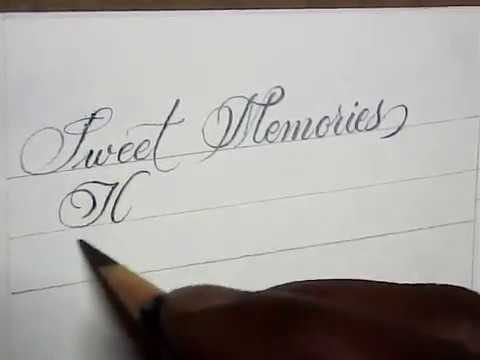 Beautiful handwriting with pencil | pencil calligraphy