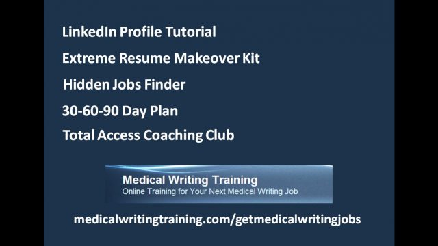 Medical writers win writing jobs with online technical certificate courses