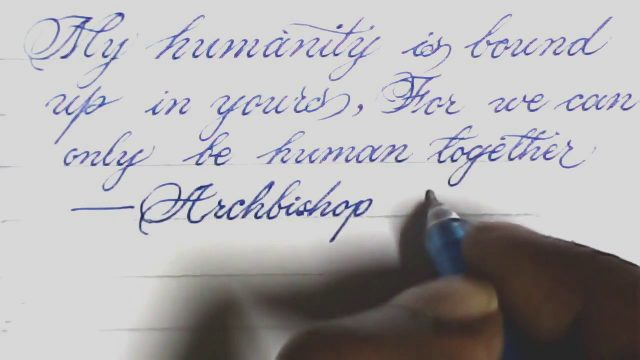 How to write neat handwriting | write like print | calligraphy