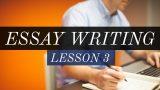 Descriptive Essay Writing – SSC CGL /Bank PO – lesson 3