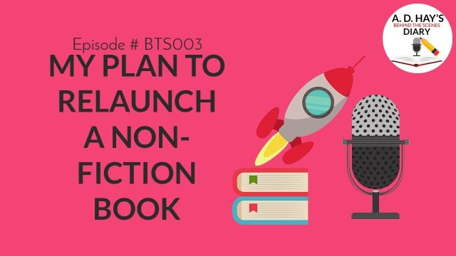 BTS003, Alpha Readers, Writers Insecurity, and Relaunching a Non Fiction Book