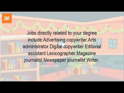 What Kind Of Jobs Can You Get With A Creative Writing Degree?