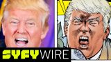 Erik Larsen on Trump and Politics in Savage Dragon | SYFY WIRE