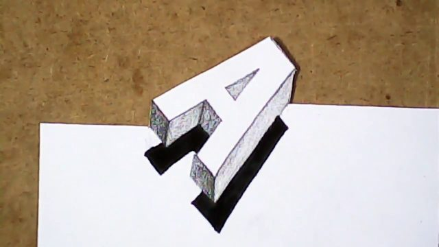 Easy art | How to draw 3D art very easy and simple | for beginners and kids