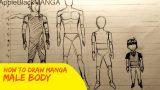 How To Draw Manga: Male Body Proportions