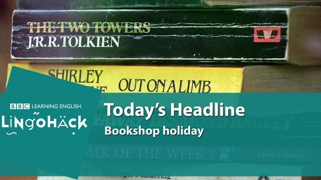 Learn words from the news: stacking, stock, displays, promotions, running