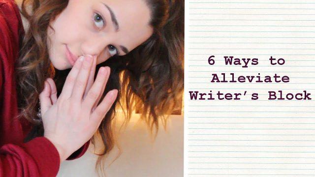 6 Tips for Writer's Block | Writing Tutorial