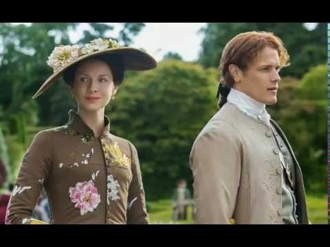Outlander season 4: Sam Heughan & Caitriona Balfe brave the cold