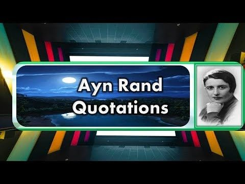 Russian Writer Ayn Rand Quotations in English || MAHE ON || BODDU MAHENDER ||