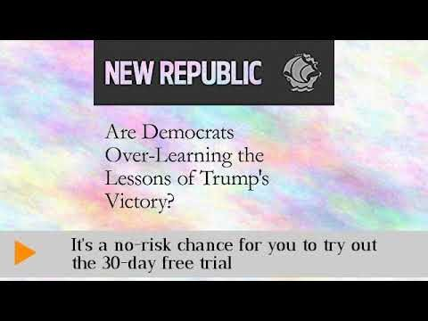 Are Democrats Over-Learning the Lessons of Trump's Victory Audiobook
