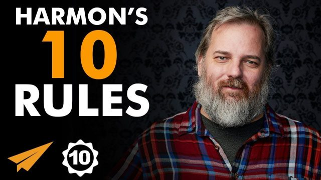 """Turn Your PAIN Into POWER!"" – Dan Harmon (@danharmon) – Top 10 Rules"