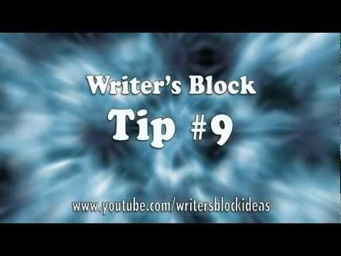 Writer's Block – Tip 09