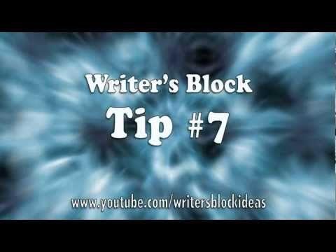 Writer's Block – Tip 07