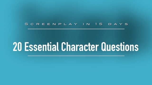 20 Essential Questions | How to write a Screenplay Day-5 | Crash Course in Hindi