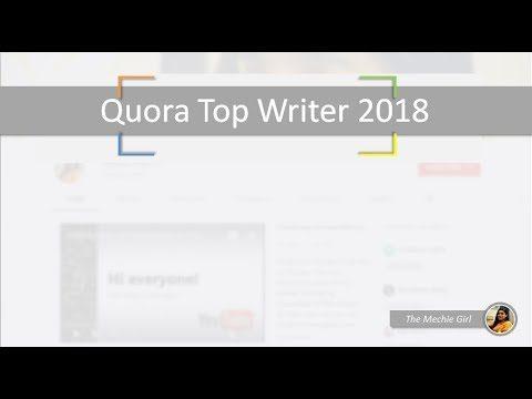 Quora Top Writer 2018 – Tania Alam