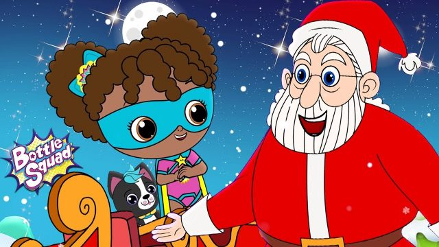 Jingle Bells | Bottle Squad | Kindergarten Video For Kids | Nursery Rhymes For Children by Kids Tv