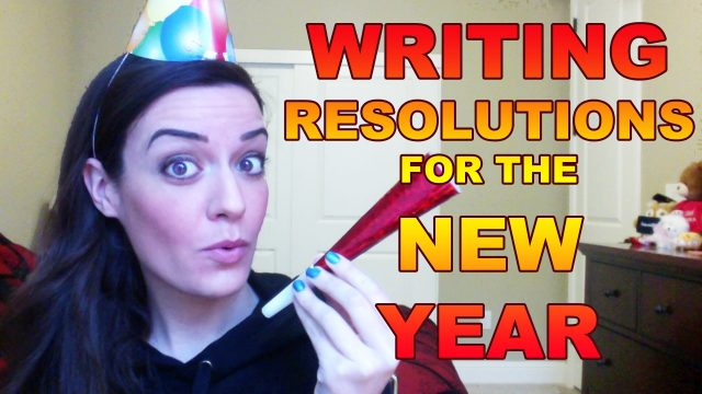Writing Resolutions for the New Year