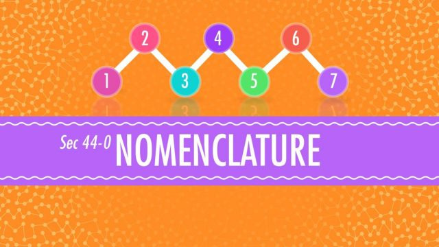 Nomenclature – Crash Course Chemistry #44
