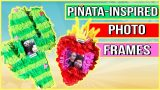 Piñata-inspired Photo Frames