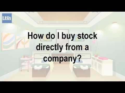 How Do I Buy Stock Directly From A Company?