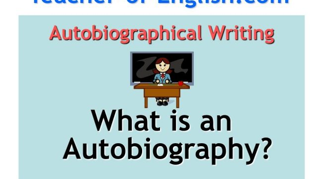 Autobiography teaching resources – PowerPoint lessons