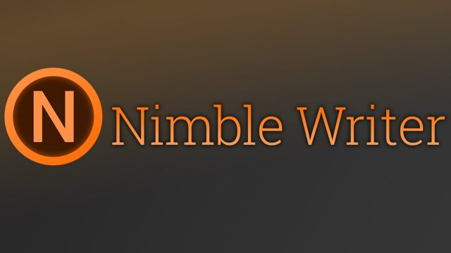Nimble Writer Features Overview