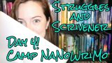 Camp NaNoWriMo Day 4 // Scrivener is Free & First Story Struggles