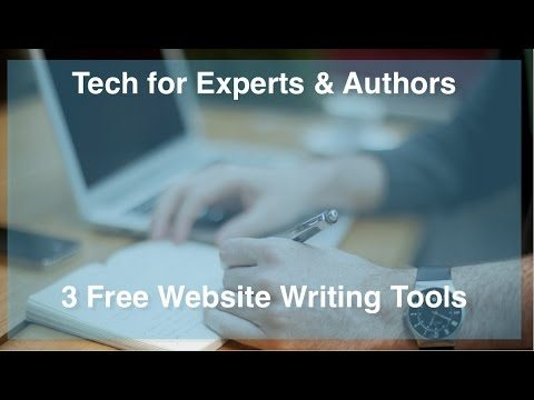 Three Useful Website for Writers