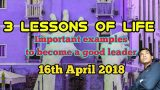 3 lessons of life | dinesh Joshi aspire to inspire | 2018 hindi motivational video story | mlm new 1