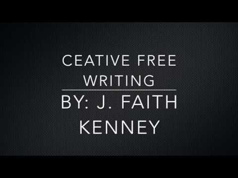 Creative Free Writing… Lesson 1